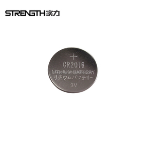 3V CR2016 Lithium button cell battery