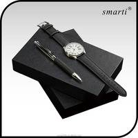 Custom pen corporate gift sets items luxury watch gift, watches men