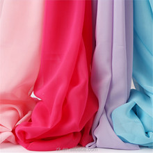 100 Polytester Fabric Textile Chiffon Fabric for Evening Gowns
