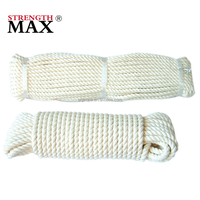 JINLI 3 Strand Polyester Used Ship Rope for Sale and Decoration