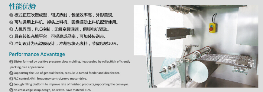 DPH260 HIGH SPEED Automatic CAPSULE Blister Packaging Machine, High Speed Blister Packer FOR TABLETS