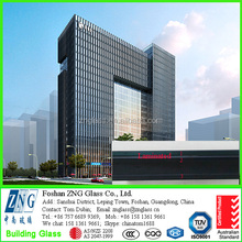 30mm (6+0.76pvb+6+12A+6) low-e laminated glass for curtain wall with AS/NZS 2208 & ISO 9001 & CCC certificates