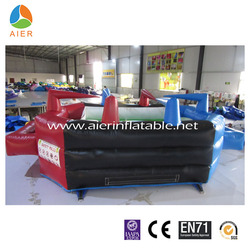 AIER high quality inflatable bouncer football field sport for boys and girls
