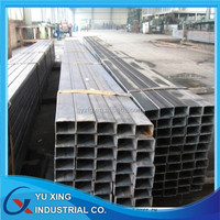 high quality q235 q345 galvanized square steel pipe for mounting bracket