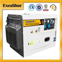 2016 Specially-designed 5500 KVA Portable Single-phase Electric start Lower noise Diesel Welder Generator