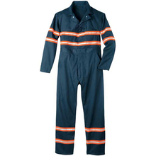 Work coverall uniform fireproof clothes with reflective tape