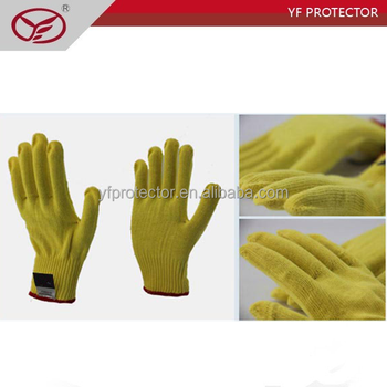 kevlar anti stab gloves/kevlar safety working gloves with anti stab function