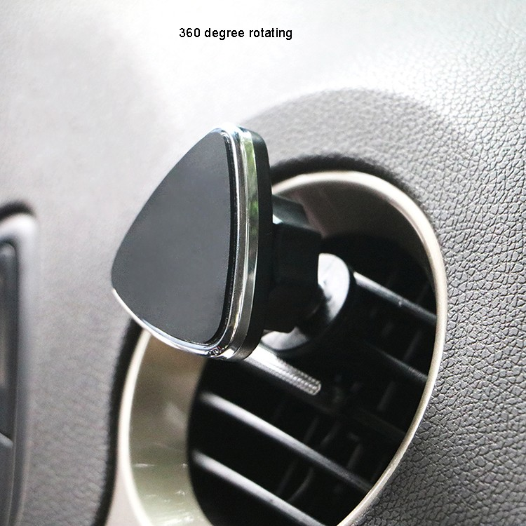 Aluminum Alloy Frame Magnetic Air Vent Car Phone Holder