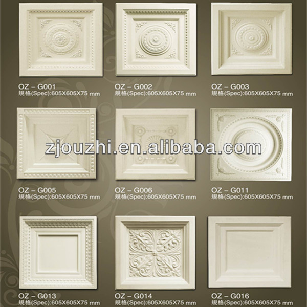 PU ceiling medallion / high quality PU cornice / decoration material