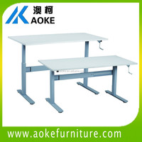Desk,Office Furniture Type and Wooden,Wood Material Height adjustable office desk
