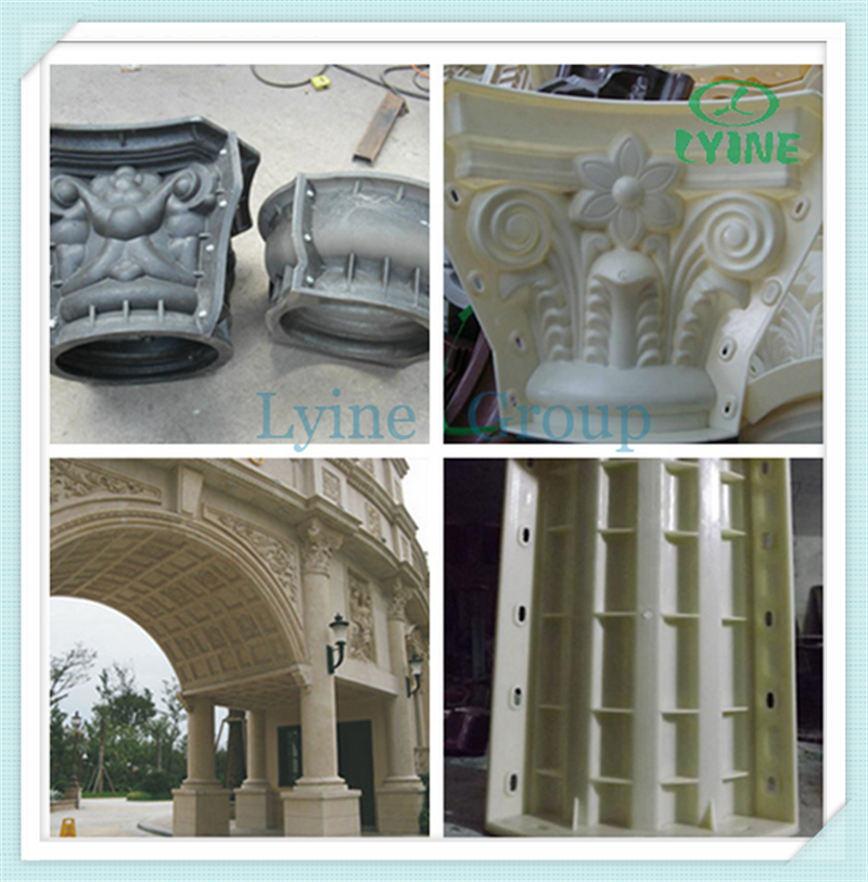Cement Pillar Molds : Factory price decorative concrete fence molds baluster