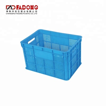 Customized Stackable Plastic Vegetable Shopping Wash Basket
