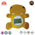 Safe phthalate and BPA free bath thermometer with alarm
