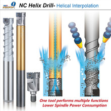 Nine9 NC Hellix Drill Helical Interpolation milling cutter