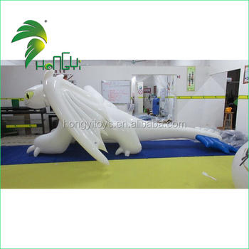 Newly Soft TPU Funny Anime Dragon Inflatable Cartoon Water Float Toy