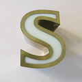 made in China frontlit 3d acrylic letter led sign