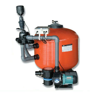 fish pond filter system / pool filter and pump