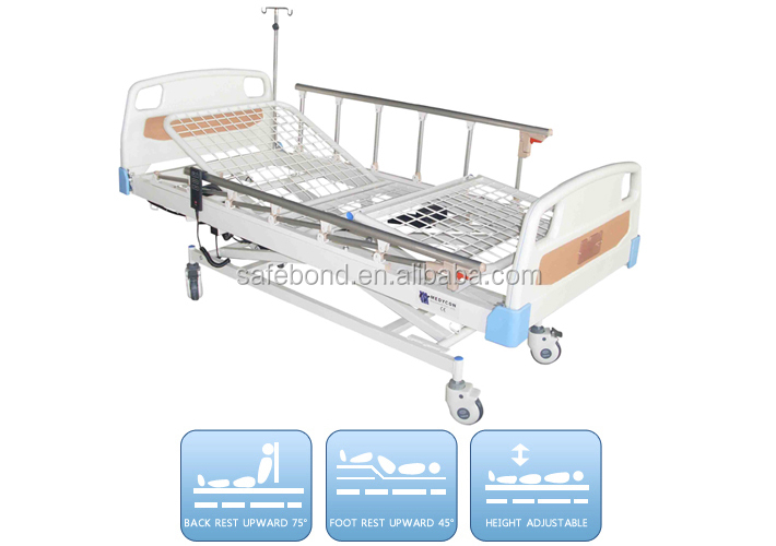 Medical equipment electric 5 function infant hospital bed