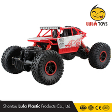 2.4G 4CH 4WD Bigfoot Cars Rock Crawlers Double Motors Drive Remote Control Cars Model Off-Road Vehicle 1:18 HB RC Car 4x4