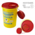 New style Round 2.4L Yellow Disposal Sharps box/container For Syringes and Needles