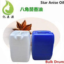 Food Grade Edible Star Anise Essential Oil For Cooking 180 KG Drum
