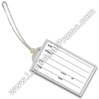 Acrylic Business Card 2x3.5 inch Luggage Tag Key Chain Snap-in Clear Gift Custom Promotional