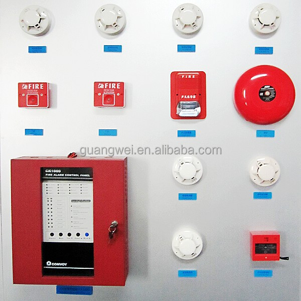 Addressable fire detection home alarm system