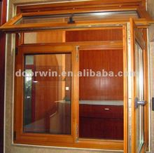 latest design casement wood window