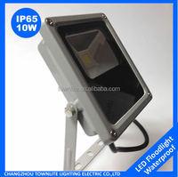 12 volt high power 10w slim led flood light for stadium