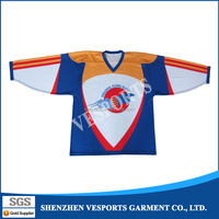 Sublimation hockey jerseys for kids