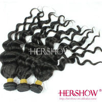 5A 100% virgin human hair unprocessed peruvian hair weaves pictures