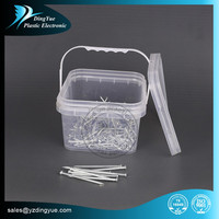 3L Square plastic ice bucket