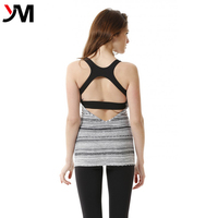 Factory Wholesale Womens Gym Vest Sexy Back Design Sportswear Tank Tops