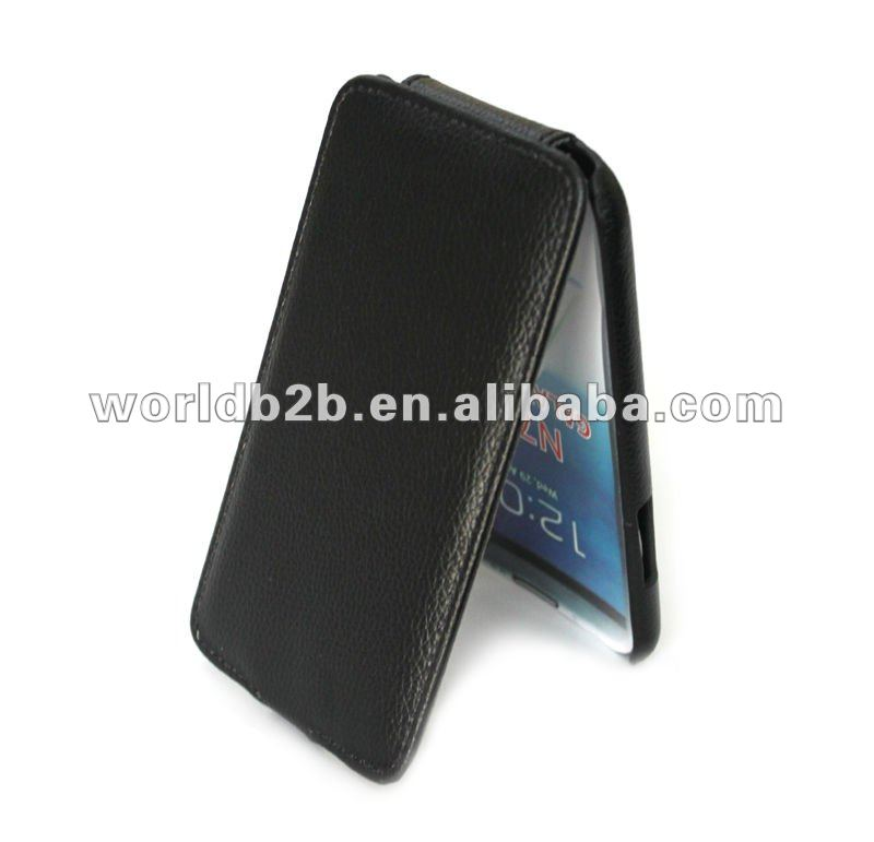 Ultrathin Flip Leather Case Cover for Samsung Galaxy Note 2(N7000), high quality