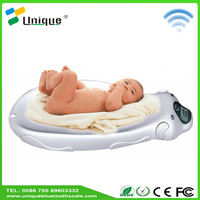 Health efficacy portable cheap app hospital measuring body fat index set infant weighing scale for baby