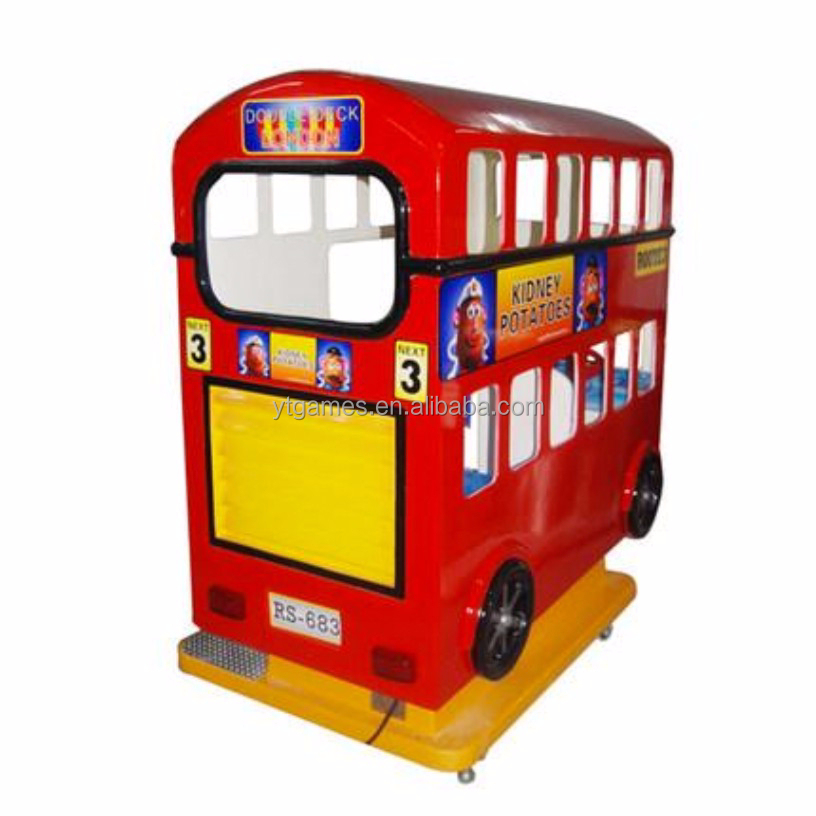 2015 London bus coin operated kids game machines