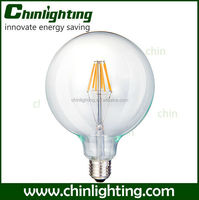 8w e27 g125 spiral filament 220v e27 lamp g125 b22 led bayonet light bulb 220v globe Led g125 filament Bulb Light White