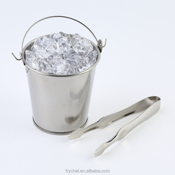 Stainless Steel Fry Serving Bucket F0084