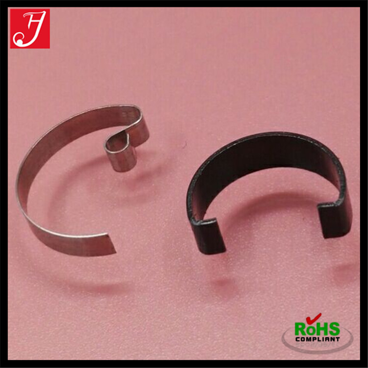 Custom OEM high precision stainless steel flat sheet c shape spring clips