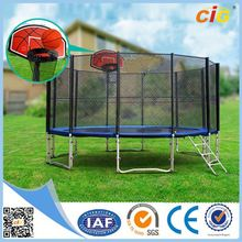 NEW Arrival 24 Hours Feedback 15ft /14ft trampoline roof folding trampoline