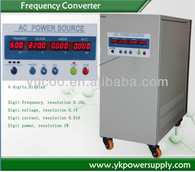 China supplier power supply 220v to 380v converter