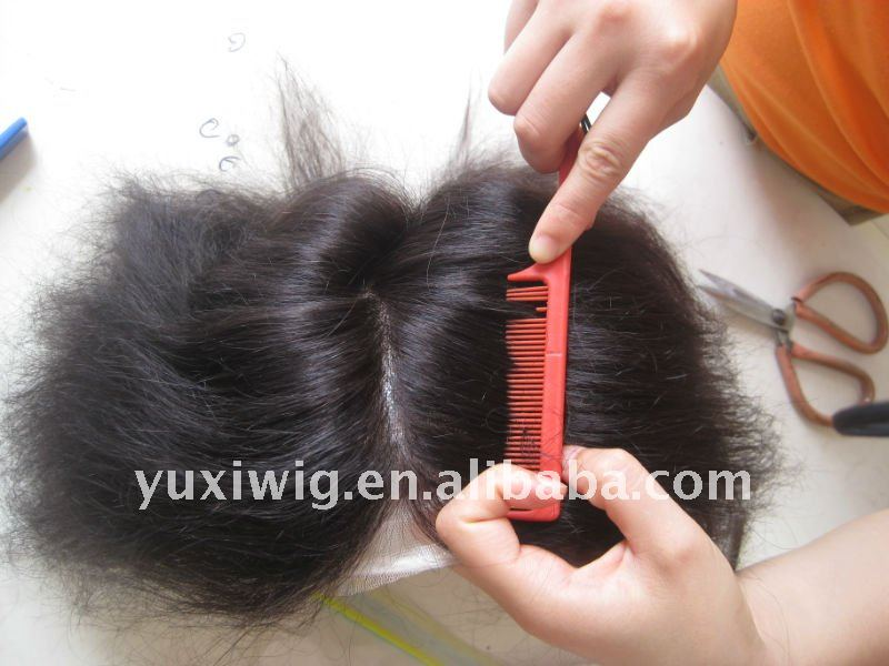 remy indian human hair toupees