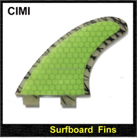 China wholesale fcs carbon fiber fins, honeycomb Surfboard fins ,surfing fins