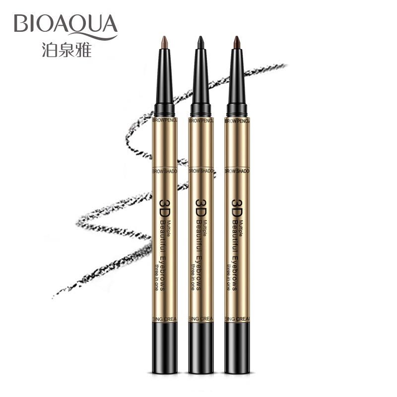 OEM Custom Logo Eyebrow Pencil Waterproof Dual Function