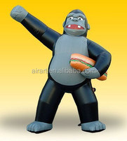 giant animal inflatable monkey for theme decoration