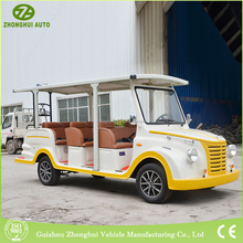 2018 new products half closed electric 48v sightseeing classic car made in china