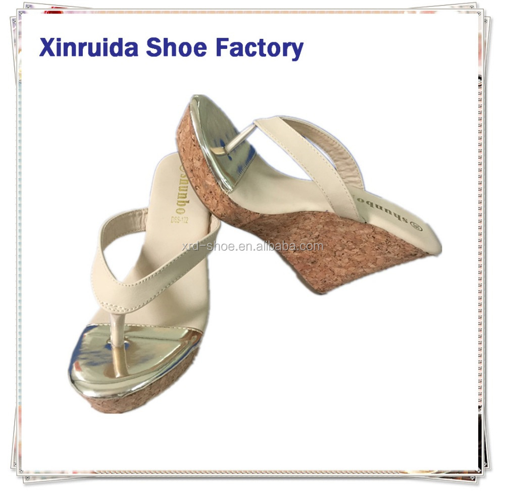 Factory stock 2016 summer leather sandal shoes for women