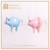 Baby Shower Gifts of Blue and Pink Cute Pig Baby Product