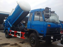 6m3 sewer dredging and cleaning vehicle dongfeng truck 6000L sewer suction truck