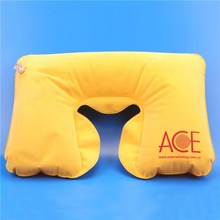 inflatable u shape neck air pillow